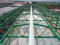Krovna konstrukcija hale